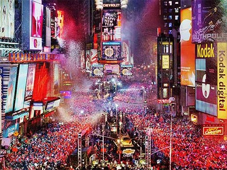 Where Does The New Years Ball Drop