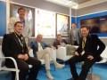 Tomás Darcyl, presidente, con el equipo de Telefilms en el último MIPCOM