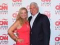 CNN Latino Cynthia Hudson con Bob Behar, de Hero Broadcasting