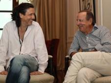 Baccetti y Straschnoy (Foto: La Nación)