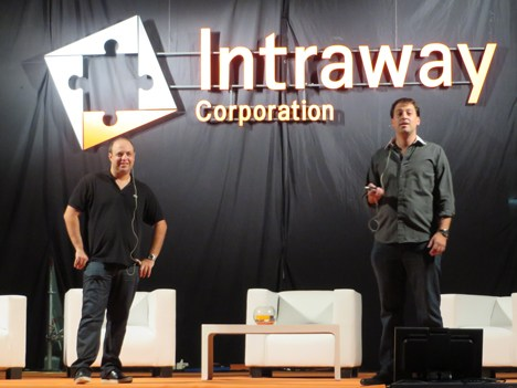 Intraway Leandro Rzezak y Lucas Lodeiro