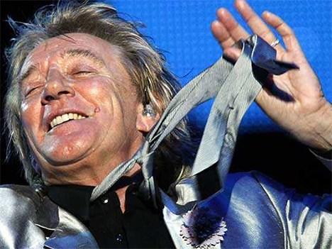 El show de Rod Stewart en Viña 2014