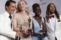 Los mejores actores: McMatthew McConaughey, Cate Blanchett, Lupita Nyong''o y Jared Leto
