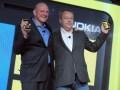 Microsoft Steve Ballmer y Nokia Stephen Elop