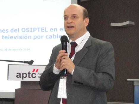 Gonzalo Ruiz, presidente del consejo directivo de Osiptel