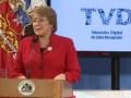 Michelle Bachelet promulgó la nueva Ley de TV Digital en Chile