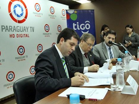 Sicom - Tigo acuerdo en Paraguay