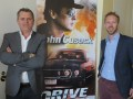 CDC United en su suite de L.A. Screenings: Eric Jenssen, managing director, y Jimmy Van der Heyden, international sales
