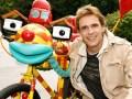Tom Turbo y su creador, el austríaco Thomas Brezina