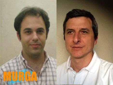 Fabio Prepelitchi y Martin Mariani, socios en Murga
