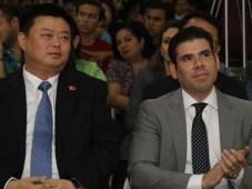 Wang Jing Xinwei Laureano Ortega ProNicaragua
