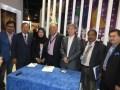 Firma del acuerdo entre Astro Maylasia y Azteca Mexico: Kairul Anwar Salleh, VP, Malay Segment, Astro; Dato'K Bala Singam, senior under Secretary, min