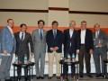 Tom Wirth (Nagra), Ariel Barlaro (Dataxis), Mauricio Ramos (Liberty), Antonio Barreto (DLA), Javier Ruette (TCC), Enrique Yamuni (Megacable), Carlos M
