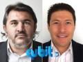Facundo De La Iglesia, CEO, Qubit Corporate, y Juan Francisco Muñoz, director de la oficina Región Norte