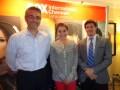 La división de ventas internacionales de FIC Latin America: Edgar Spielmann, EVP y COO, Ana María Barreto, directora comercial, y Sebastián Snaider, V
