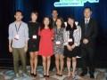 Exponentes del screening de KOCCA, asociación gubernamental de Corea, para buyers de América Latina: Chang-II Bae, int'l business de TUBA n; Kaylee Le