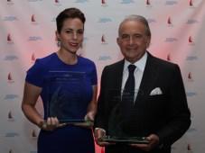 Adriana y Gustavo Cisneros, reconocidos por su trayectoria en la producción de contenido televisivo