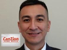Gherald Reinoso, coordinador de ventas de CanZion