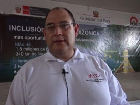 Juan Carlos Mejía MTC Perú