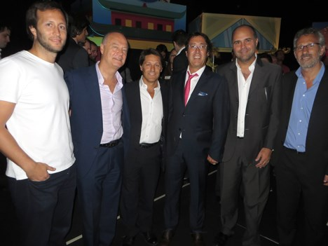 Telefe Pol-ka presentan Los Creadores ejecutivos