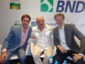 Roberto Romagnoli, Production and Entertainment Director, Azteca (Mexico); Fernando Gaitán, VP International Production, RCN TV (Colombia); and Marcel