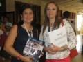 Miriam Urbina Eslava, de Garden Technology, y Danny Zorelly Rodríguez de Azteca Colombia