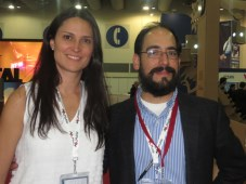 Canitec 15 D2 Fernanda Merodio de Hemisphere y Ricardo Ortiz de Maxcom