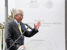 México Gerardo Ruíz Esparza, SCT, en MexSat