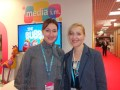 Irina Nazarenko y Maria Ufland, joint managing director de Media I.M