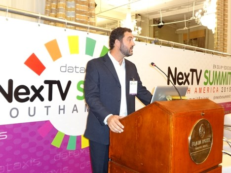 NexTV 15 D1 Leonardo Gioino, de Pontis, representante Verimatrix