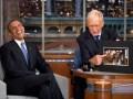 David Letterman con Barack Obama
