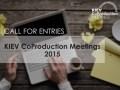 KMW abre la inscripción a las Kiev CoProduction Meetings