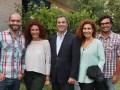 El equipo de distribución internacional liderado por João Pedro Nava (centro) con André Silva, Cindy Barardo, Carlota Vieira y Rafael Silva