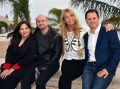 Discovery Kids Cris Morena y Juan José Campanella en Cannes