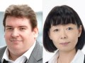 Michael Schmidt, CCO de Red Arrow Entertainment Group, y Yukiko Kimishima, presidente de Desarrollo de Negocios Internacionales de Nippon TV