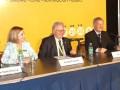 Norma Trinchitella, Ricardo Solari y Osvaldo Rodi en la inauguración oficial de Caper 2015