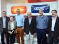 Carlos Bardon, Lorena Marino, Miguel Fernandez, Gabriel Garro, Gustavo Cayssials y Fabio Messa
