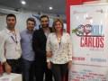 Jacopo Fantastichini, CEO de Sacamandra, y Reza Pakravan, junto a Carlos Mesber, director creativo y cofundador, y María Elena Useche, presidente de H