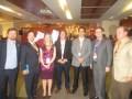 Pablo Scotellaro, María del Carmen Soto, Humberto García, Alexis Piwonka, Enrique Almone y Jaime Bellolio, en la inauguración de CMS 2014