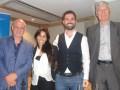 Panel Estrategias de distribución internacional de contenidos: Octavio Nadal, de Aura Films; Michelle Wasserman, de Endemol Shine Group, Ezequiel Olza