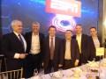 Guillermo Tabanera, Antonio Álvarez, Gerente de Programación de Cablevisión, Sebastián López, VP de Ventas Afiliadas de ESPN, Lucio Gamaleri, VP de Re
