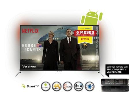 philips tv y netflix lanzan promo 4k tecnolog a prensario internacional. Black Bedroom Furniture Sets. Home Design Ideas