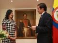 Colombia Suarez Peñaloza ANE y Ministro TIC David Luna