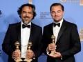 Golden Globe 16 Alejandro González Iñárritu y Leonardo DiCaprio