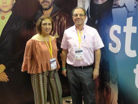 María José Pérez y Rodolfo Domínguez, de RTVE, presentaron la nueva señal Star HD