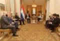 Millicom miembros del Board con Cartes de Paraguay