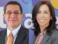 Ramón Salomón, director de Operaciones, y Fidela Navarro, directora de distribución de contenidos y señales