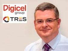 Digicel Group Colm Delves + adquiere Tres Networks