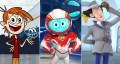 Chuck's Choice, Space Ranger Roger e Inspector Gadget, series producidas por DHX Studios.