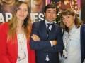 Ana Estevez, ventas internacionales, Jose Miguel Barrera, responsable de la división internacional de negocios, y Vanessa Palacios, a cargo de adquisiciones y programación del nuevo canal TDT del Grupo Secuoya, Ten